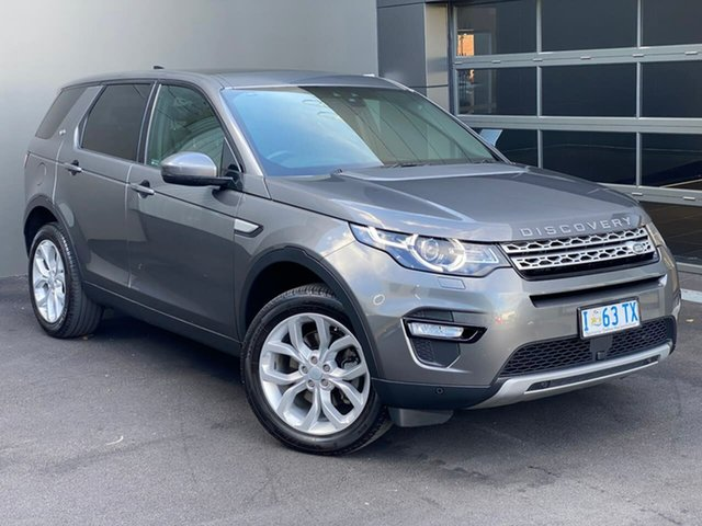 Used Land Rover Discovery Sport L550 17MY HSE Hobart, 2017 Land Rover Discovery Sport L550 17MY HSE Grey 9 Speed Sports Automatic Wagon