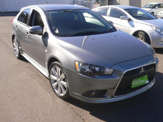 Used Mitsubishi Lancer CJ MY15 GSR Sportback St Marys, 2015 Mitsubishi Lancer CJ MY15 GSR Sportback Grey 5 Speed Manual Hatchback