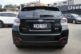 2015 Subaru XV G4X MY15 2.0i Lineartronic AWD Crystal Black 6 Speed Constant Variable Wagon
