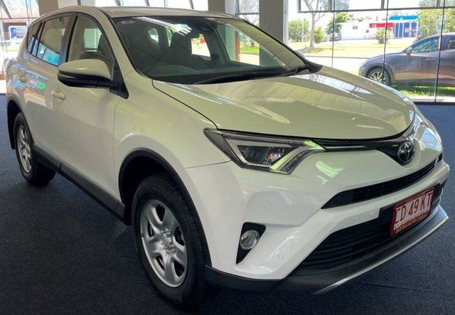 Used Toyota RAV4 ASA44R GX AWD Winnellie, 2017 Toyota RAV4 ASA44R GX AWD White 6 Speed Sports Automatic Wagon