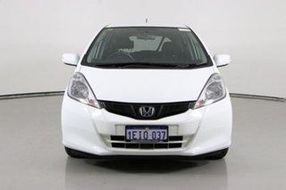 2013 Honda Jazz GE MY12 Update Vibe White 5 Speed Automatic Hatchback.