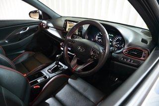 2017 Hyundai i30 PD MY18 SR D-CT Grey 7 Speed Sports Automatic Dual Clutch Hatchback