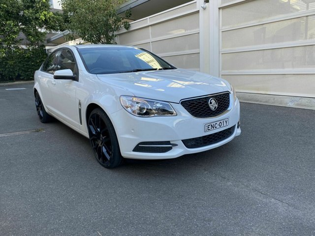 Used Holden Commodore VF II MY16 Evoke Zetland, 2015 Holden Commodore VF II MY16 Evoke White 6 Speed Sports Automatic Sedan