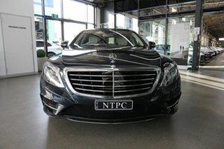 2016 Mercedes-Benz S-Class W222 806MY S350 d 7G-Tronic + Blue 7 Speed Sports Automatic Sedan