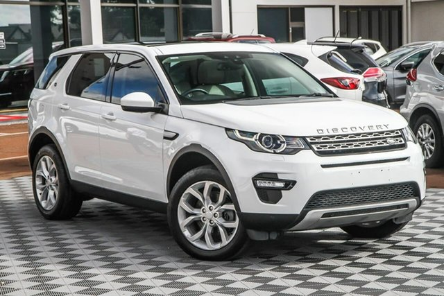 Used Land Rover Discovery Sport L550 16MY SE Attadale, 2015 Land Rover Discovery Sport L550 16MY SE Fuji White 9 Speed Sports Automatic Wagon