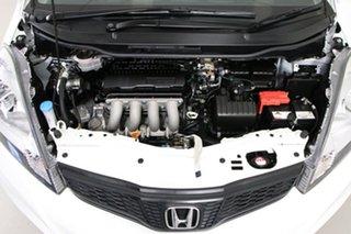 2013 Honda Jazz GE MY12 Update Vibe White 5 Speed Automatic Hatchback