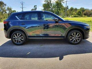 2018 Mazda CX-5 KF Series GT Blue Sports Automatic Wagon.