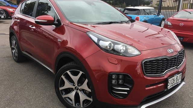 Used Kia Sportage QL MY16 Platinum AWD Paradise, 2016 Kia Sportage QL MY16 Platinum AWD Red/Black 6 Speed Sports Automatic Wagon