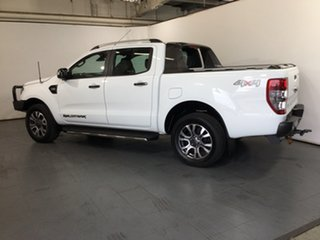 2017 Ford Ranger PX MkII Wildtrak Double Cab White 6 Speed Sports Automatic Utility