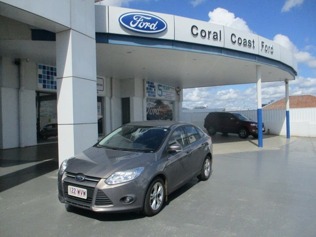 Used Ford Focus LW MK2 Trend Bundaberg, 2012 Ford Focus LW MK2 Trend Grey 6 Speed Automatic Sedan