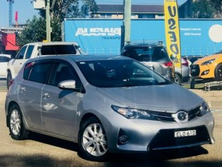 2014 Toyota Corolla ZRE182R Ascent Sport S-CVT Silver, Chrome 7 Speed Constant Variable Hatchback.