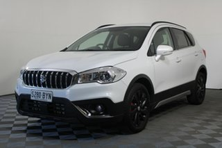 2018 Suzuki S-Cross JY Turbo White 6 Speed Sports Automatic Hatchback