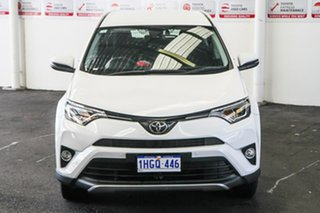 2017 Toyota RAV4 ZSA42R MY18 GX (2WD) Glacier White Continuous Variable Wagon