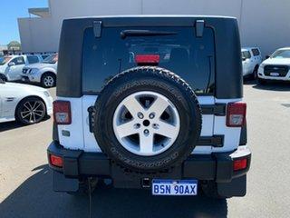 2011 Jeep Wrangler JK MY2011 Sport White 6 Speed Manual Softtop.