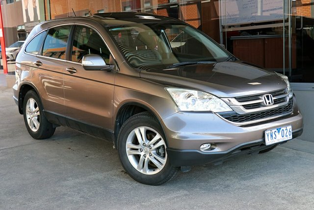 Pre-Owned Honda CR-V RE MY2011 Luxury 4WD Preston, 2011 Honda CR-V RE MY2011 Luxury 4WD Titanium 5 Speed Automatic Wagon
