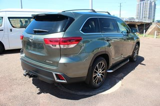 2017 Toyota Kluger GSU50R Grande 2WD Rainforest Green 8 Speed Automatic Wagon