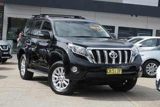 2016 Toyota Landcruiser Prado GDJ150R VX Black 6 Speed Sports Automatic Wagon.