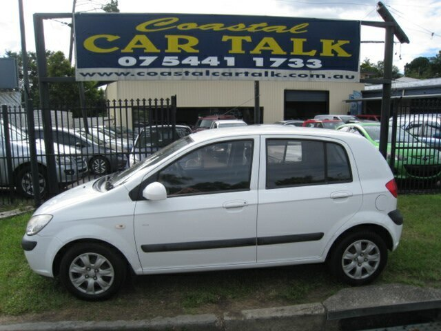 Used Hyundai Getz TB Upgrade SX Nambour, 2007 Hyundai Getz TB Upgrade SX White 5 Speed Manual Hatchback
