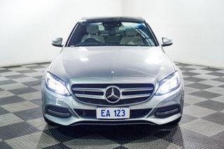 2015 Mercedes-Benz C-Class W205 C250 BlueTEC 7G-Tronic + Grey 7 Speed Sports Automatic Sedan.