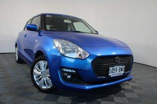 2018 Suzuki Swift AZ GL Navigator Blue 1 Speed Constant Variable Hatchback.