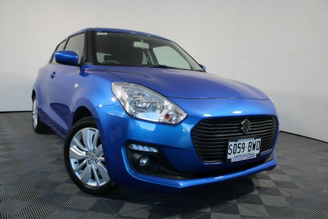 Used Suzuki Swift AZ GL Navigator Wayville, 2018 Suzuki Swift AZ GL Navigator Blue 1 Speed Constant Variable Hatchback