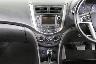 2017 Hyundai Accent RB5 Sport Yellow 6 Speed Automatic Sedan