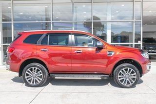 2019 Ford Everest UA II 2019.00MY Titanium Red 10 Speed Sports Automatic SUV