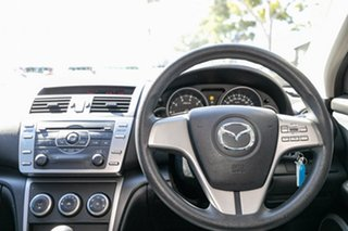 2009 Mazda 6 GH1051 MY09 Limited Sunlight Silver 5 Speed Sports Automatic Sedan