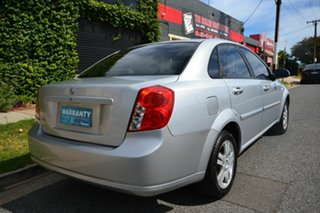 2007 Holden Viva JF MY07 Silver 4 Speed Automatic Sedan.