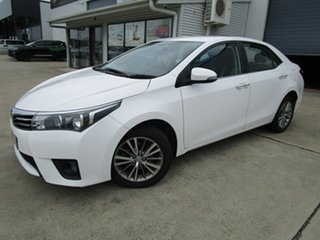 2013 Toyota Corolla ZRE172R SX S-CVT White 7 Speed Constant Variable Sedan.