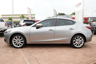 2015 Mazda 3 BM SP25 Silver 6 Speed Manual Sedan