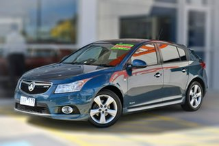 2011 Holden Cruze JH Series II MY12 SRi-V Blue 6 Speed Sports Automatic Hatchback.