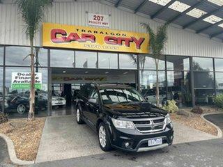2012 Dodge Journey JC MY12 R/T Black 6 Speed Automatic Wagon.