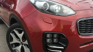2016 Kia Sportage QL MY16 Platinum AWD Red/Black 6 Speed Sports Automatic Wagon.