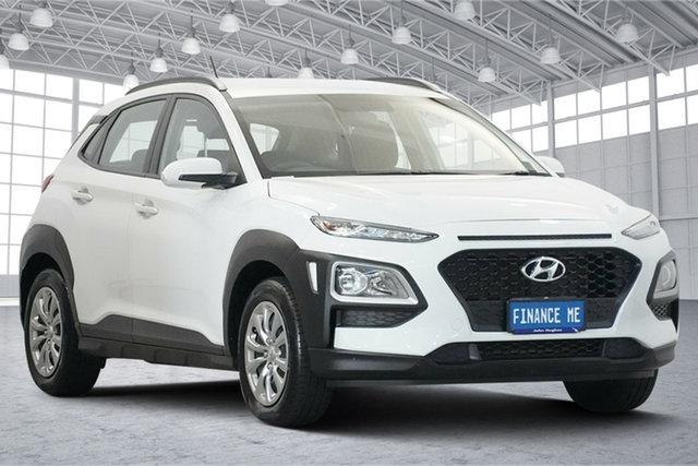 Used Hyundai Kona OS.2 MY19 Go 2WD Victoria Park, 2019 Hyundai Kona OS.2 MY19 Go 2WD White 6 Speed Sports Automatic Wagon