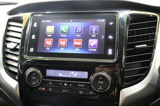 2017 Mitsubishi Triton MQ MY17 GLS Double Cab Sports Edition Grey 6 Speed Manual Utility