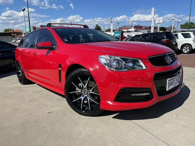 Used Holden Commodore VF MY14 SS Sportwagon Victoria Park, 2013 Holden Commodore VF MY14 SS Sportwagon Red 6 Speed Sports Automatic Wagon