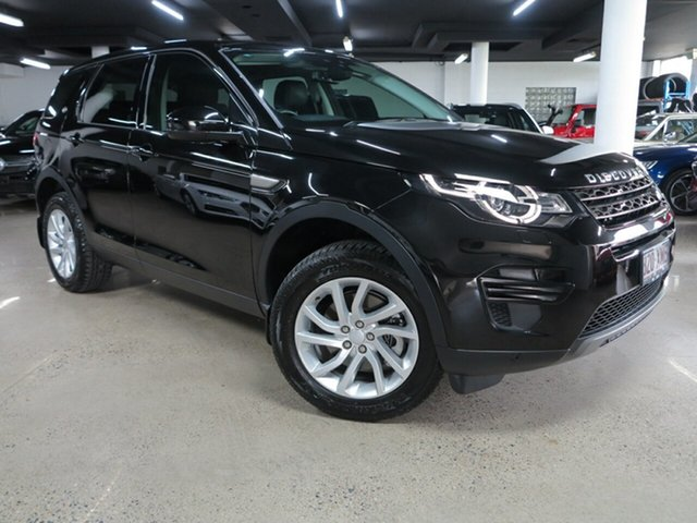 Used Land Rover Discovery Sport L550 17MY TD4 150 SE Albion, 2017 Land Rover Discovery Sport L550 17MY TD4 150 SE Black 9 Speed Sports Automatic Wagon