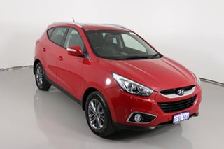 2014 Hyundai ix35 LM Series II Trophy (FWD) Red 6 Speed Automatic Wagon