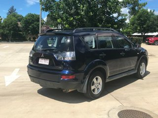 2010 Mitsubishi Outlander ZH MY11 LS 2WD Blue 6 Speed Constant Variable Wagon