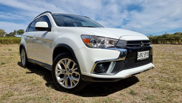 Used Mitsubishi ASX XC MY19 ES 2WD Nuriootpa, 2018 Mitsubishi ASX XC MY19 ES 2WD White 1 Speed Constant Variable Wagon