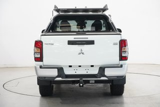 2019 Mitsubishi Triton MR MY19 GLS Double Cab White 6 Speed Manual Utility