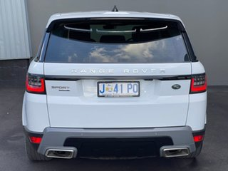 2018 Land Rover Range Rover Sport L494 18MY SE White 8 Speed Sports Automatic Wagon