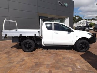 2017 Mazda BT-50 UR0YG1 XT Freestyle 4x2 Hi-Rider White 6 Speed Manual Cab Chassis.