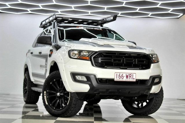 Used Ford Everest UA MY17 Ambiente Burleigh Heads, 2016 Ford Everest UA MY17 Ambiente White 6 Speed Automatic SUV