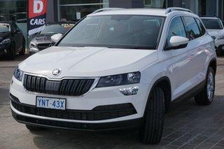 2020 Skoda Karoq NU MY20.5 110TSI DSG FWD Candy White 7 Speed Sports Automatic Dual Clutch Wagon