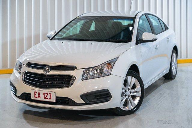 Used Holden Cruze JH Series II MY15 Equipe Hendra, 2015 Holden Cruze JH Series II MY15 Equipe White 6 Speed Sports Automatic Sedan