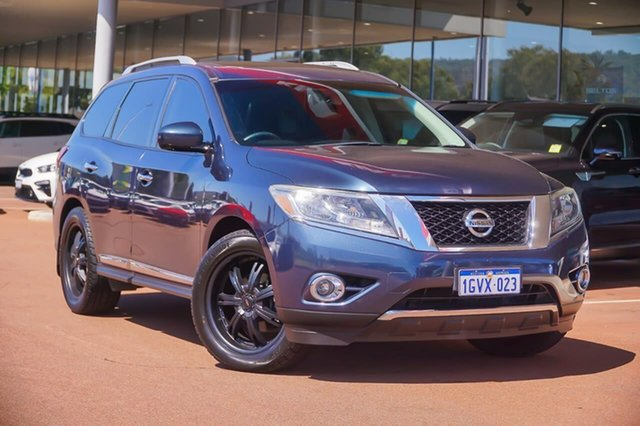 Used Nissan Pathfinder R52 MY14 ST-L X-tronic 4WD Gosnells, 2014 Nissan Pathfinder R52 MY14 ST-L X-tronic 4WD Blue 1 Speed Constant Variable Wagon