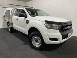 2017 Ford Ranger PX MkII XL Plus White 6 Speed Sports Automatic Cab Chassis.
