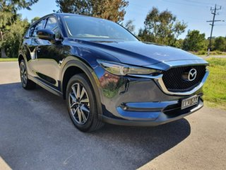 2018 Mazda CX-5 KF Series GT Blue Sports Automatic Wagon.